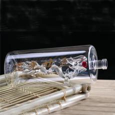 白酒透明玻璃瓶创意高硼硅耐高温玻璃酒瓶