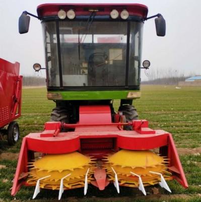 高速转盘青储机 大型玉米秸秆粉碎青贮机