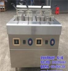雙缸雙篩炸鍋,大功率電磁雙炸鍋,自動控溫油炸爐