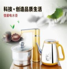 廠家批發自動抽水電熱壺茶具套裝辦公電茶爐燒水壺茶盤專用嵌入式