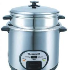 電飯鍋不銹鋼3L5L4升6L機械式小電飯煲蒸格不粘鍋內膽電熱鍋