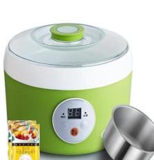 億利來酸奶機 米酒機 家用全自動不銹鋼酸奶機1L 恒溫買就送菌粉