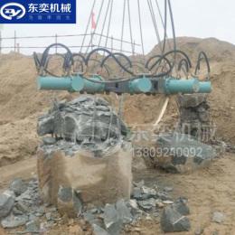 灌注樁基頭破除液壓破樁機 樁頭截樁機