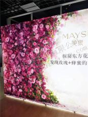 上海供應展覽亮燈花墻 移動花墻展架 折疊架