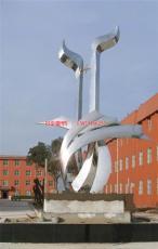 不锈钢广场抽象雕塑 广场成长雕塑 广场雕塑