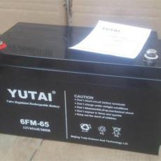 宇泰蓄電池6-FM-24 12V24AH重慶代理報價