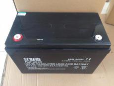 艾默森蓄电池NP100-12 12V100AH报价参数