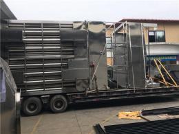 獅山鎮發貨到太原市的大件設備運輸車隊