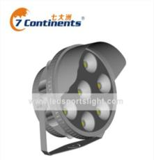 广东七大洲专业生产QDZ-500W 大功率LED体育照明灯