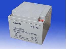 hossoni铅酸蓄电池HB12380 12V38AH仪器仪表