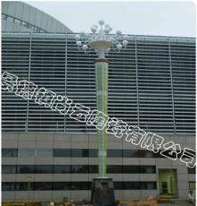 陶瓷路灯柱青花瓷灯柱柱装饰花园景观瓷灯柱