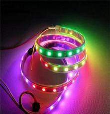 SK6812 60灯幻彩灯带 流水跑马流星灯带内置IC单点单控灯条