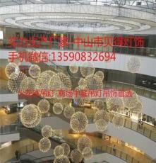 广西沙盘商场购物中心中庭中空售楼中心-吊灯饰工厂订制定制直销