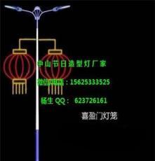 亚洲LED路灯杆 平安结灯杆造型装饰 灯笼