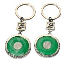 長沙青花瓷鑰匙扣定做青花瓷書簽設計制作