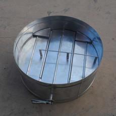 白鐵皮圓風管調節閥 通風排煙管道供應廠家