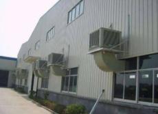高温玻璃厂车间通风降温装置