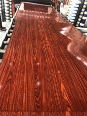 呼伦贝尔电梯装潢用仿木纹不锈钢转印板
