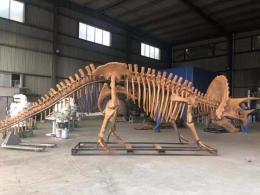自貢仿真動物制作工廠 仿真恐龍模型來圖定