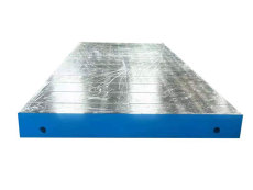 铸铁平板平台量具 大型机床铸件 铸铁地轨