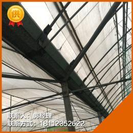 安徽滁州鋼架大棚管溫室連體棚價格是多少