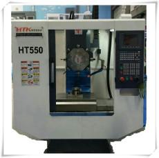 浙江高速高刚性HTK550-8T钻攻中心机厂家