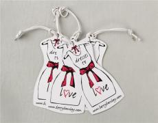 女裝吊牌 吊牌定做 廠家生產直銷 衣服吊牌