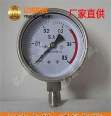 防腐膜片式壓力表,CW-YPF防腐膜片式壓力表