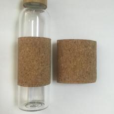 东莞软木制品厂 隔热防滑玻璃杯软木杯套