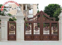 鋁藝大門多少錢歐式庭院大門