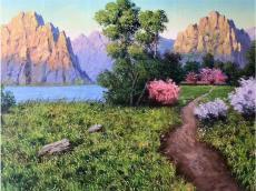李繼燮老師朝鮮油畫的成長之路