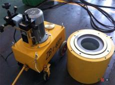 重庆张拉设备千斤顶油泵钢绞线穿束机挤压机