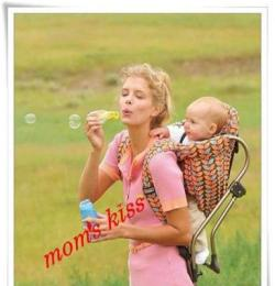 包郵 minizone正品美國創意嬰兒背籃背架 寶寶背簍 背帶背椅背篼