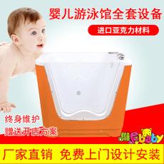 婦幼保健院用亞克力嬰幼兒洗澡盆生產廠家