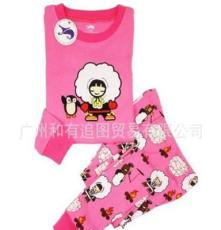 童装 夏款 儿童套装 限时促销 时尚创意居家童装