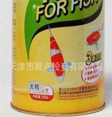 一品紅魚糧1kg罐裝 AAA級錦鯉揚色專用魚糧