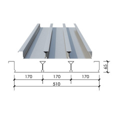 YXB65-170-510樓承板-壓型鋼板510型