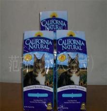 美國凌采北京總代理-加州天然雞肉糙米貓糧2.25