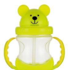 熊仔學飲水杯