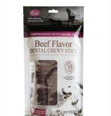 牛肉味小筋條寵物狗狗零食 磨牙潔齒肉條干200g