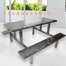 食堂不銹鋼餐桌廠家批發定制不銹鋼八人餐桌