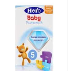 荷兰Hero Baby奶粉5段(2周岁以上宝宝)700g