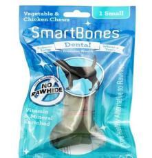 SBD-00223 美國SmartBones 小號潔牙骨健齒味1支裝 寵物零食