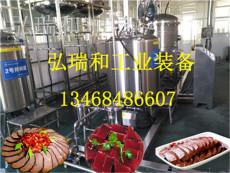 全套豬血豆腐生產線-血豆腐成套生產線設備
