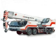 朝陽十里堡出租吊車大量使用度鋼HG60作為機