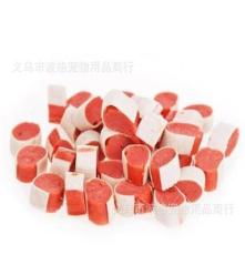 台湾爱慕 宠物零食 美味鳕鱼鸡肉寿司 亮毛食品 100G 现货供应