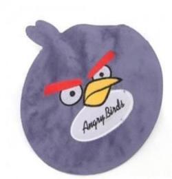 K1105 優質短絨圓形卡通小鳥熱水袋/電暖寶 192