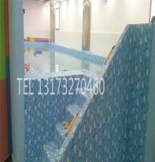 水育早教泳池 兒童游泳設備訂制安裝 威海新款組裝式泳池廠家供應