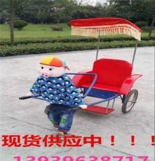 河南供应造型齐全机器人拉黄包车  机器人拉车质量第一