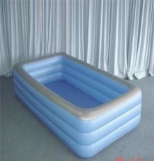 厂家供应pvc充气游泳池 儿童充气水池戏水池